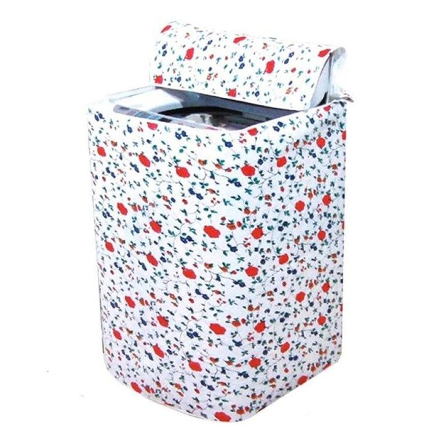 Vỏ bọc máy giặt cửa trên GG24 (Trắng phối hoa)