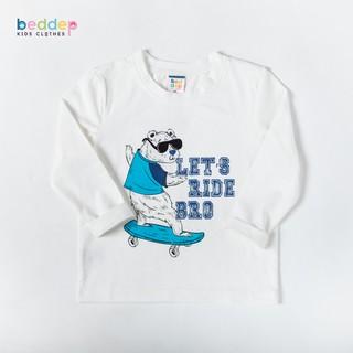 Áo thun dài tay Beddep Kids Clothes in hình cho bé trai từ 1 đến 8 tuổi B15 thumbnail