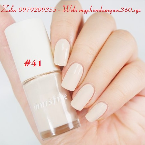 Sơn Móng Tay – Innisfree Real Color Nail - Màu số 41