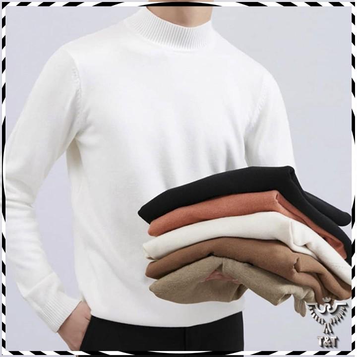 Áo len nam cổ 3cm kiểu dáng hàn quốc mẫu mới 2020 AL02