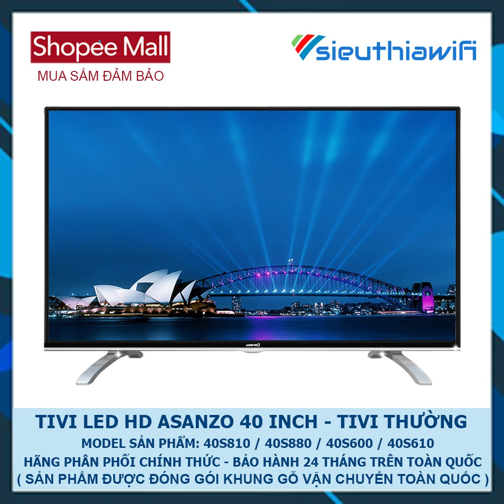 [ GIAO HÀNG TOÀN QUỐC ] - TIVI LED HD ASANZO 40 INCH 40S810 / 40S880 / 40S600 / 40S610 - 2687499 , 719303246 , 322_719303246 , 6000000 , -GIAO-HANG-TOAN-QUOC-TIVI-LED-HD-ASANZO-40-INCH-40S810--40S880--40S600--40S610-322_719303246 , shopee.vn , [ GIAO HÀNG TOÀN QUỐC ] - TIVI LED HD ASANZO 40 INCH 40S810 / 40S880 / 40S600 / 40S610