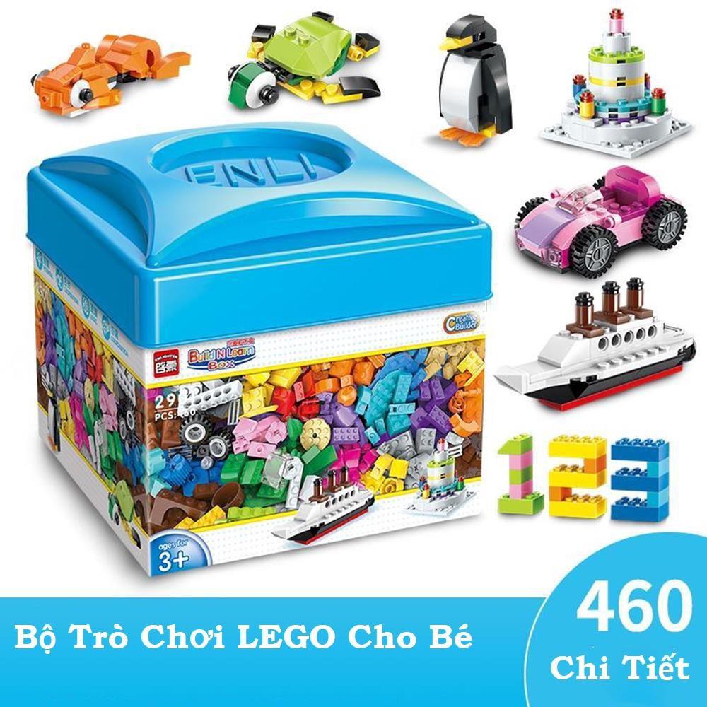 Bộ Lego 460 Chi Tiết Sáng Tạo   Shopee Việt Nam