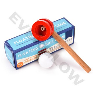 Wooden Blowing Floating Flute Ball Educational Game Toy Gifts Children Kids