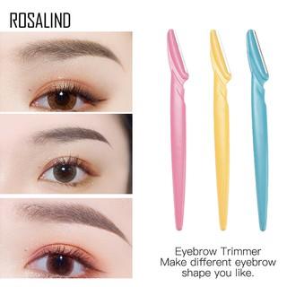 Set 3 dao cạo lông mày ROSALIND dành cho trang điểm mặt thumbnail