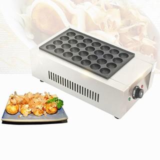 Máy làm bánh bạch tuộc takoyaki công nghiệp 28 lỗ