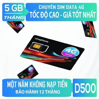 Sim Dcom 4G Trọn Gói 1 Năm VinaPhone 5G Tháng – Không Phải Nạp