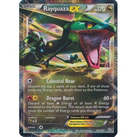TCG BW Dragons Exalted Rayquaza EX RA