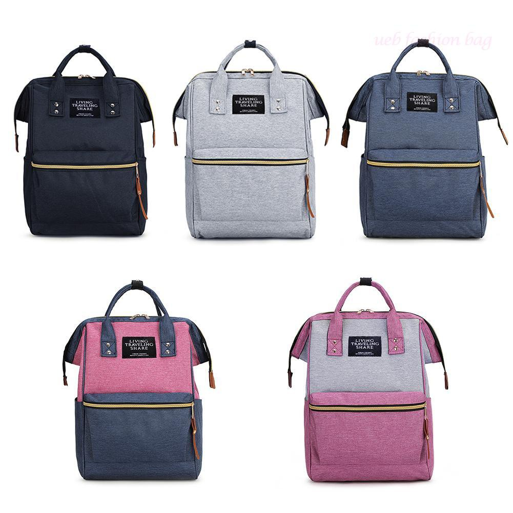 👜UEB👝 Large Capacity Backpack Unisex Travel Shoulder Polyester Casual School Bags