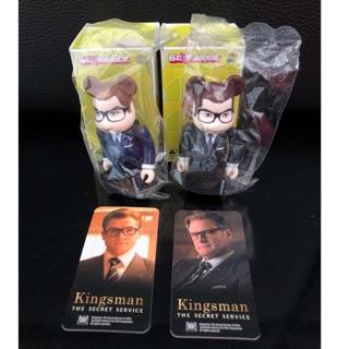 100% Bearbrick Kingsman Hero Combo