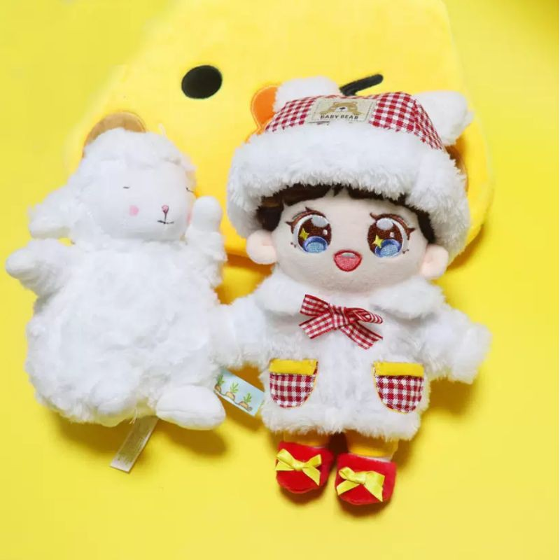 Outfit doll 20cm Cừu Trắng (48)