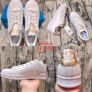 Giày Stan Smith Gót Vàng