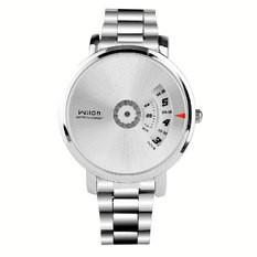 Đồng hồ nam Wilon không kim màu trắng