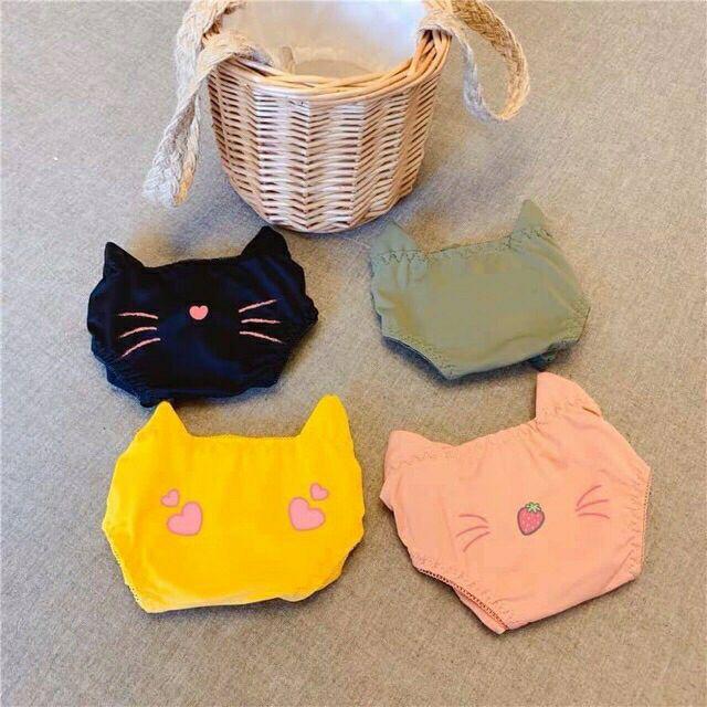 Bộ đồ lót su mèo không gọng đệm 2,5cm mềm mại | SaleOff247