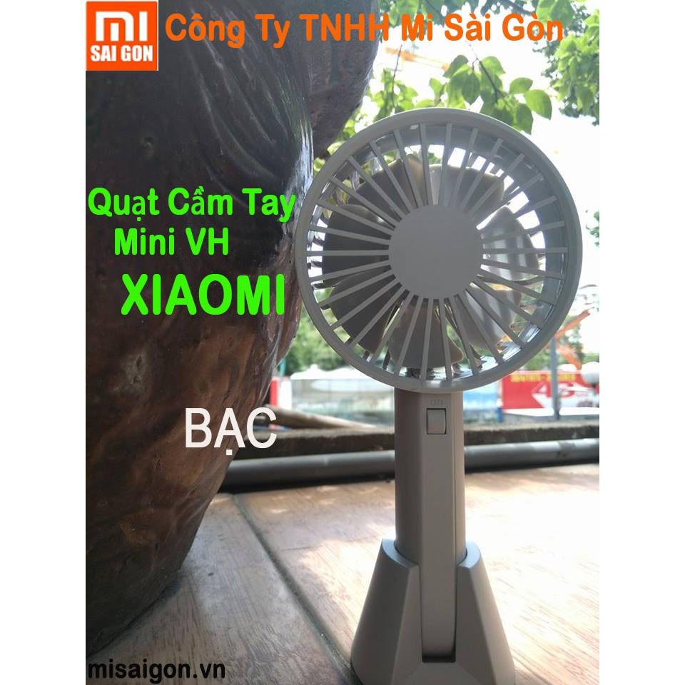 Quạt Cầm Tay MINI VH Xiaomi (Bạc) - 3480216 , 1235574115 , 322_1235574115 , 208000 , Quat-Cam-Tay-MINI-VH-Xiaomi-Bac-322_1235574115 , shopee.vn , Quạt Cầm Tay MINI VH Xiaomi (Bạc)