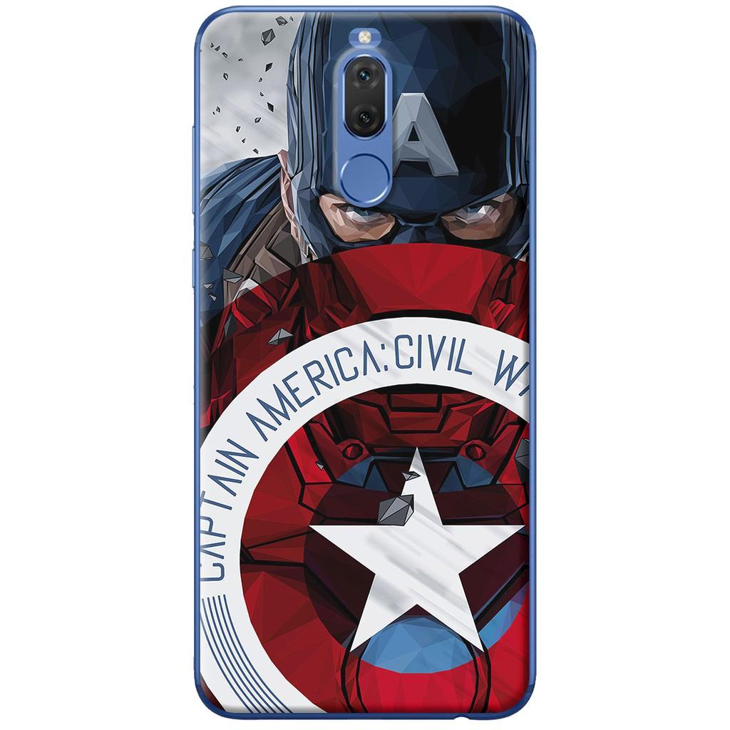 Ốp lưng nhựa dẻo Huawei Nova 2i Captain war