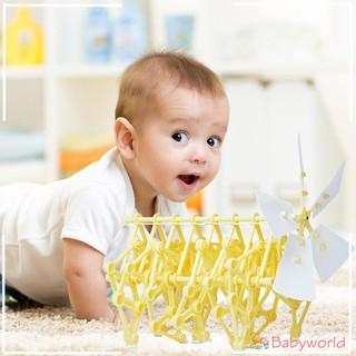 Đồ chơi lắp ráp cối xay gió tăng khả năng sáng tạo cho trẻ