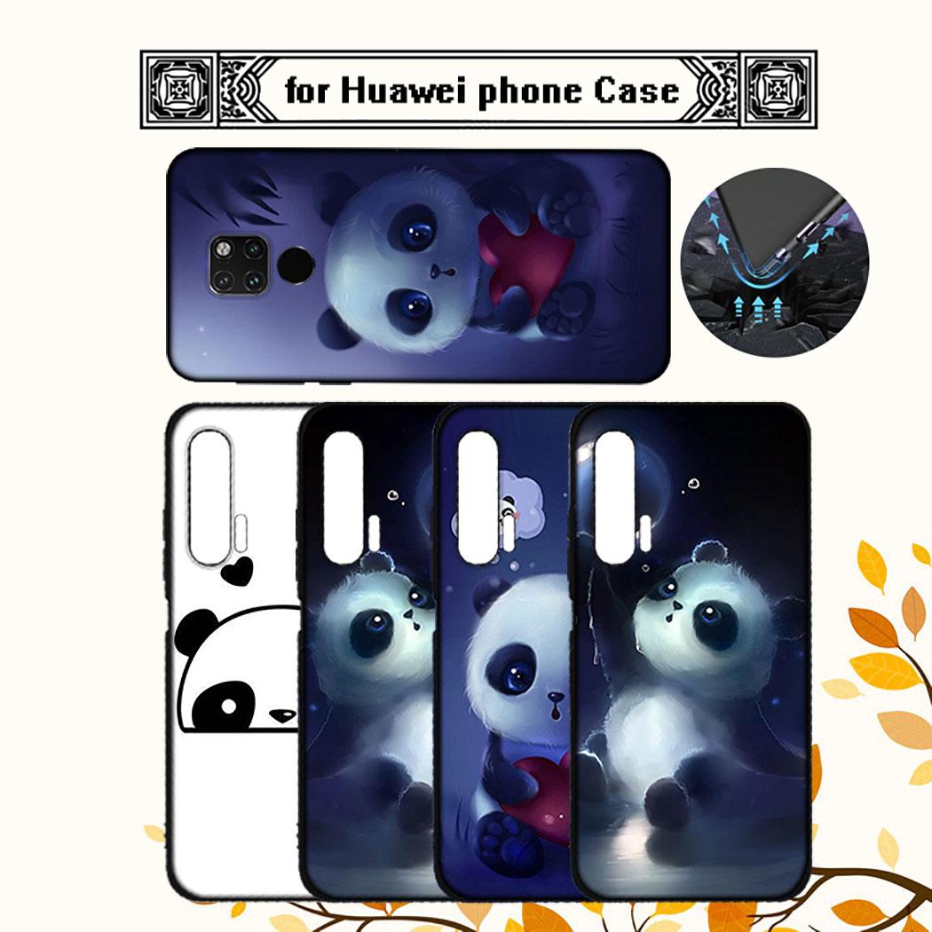 Ốp Điện Thoại Silicon Mềm Hình Gấu Trúc Cho Huawei P8 P20 P10 P9 Lite Mini Iq48