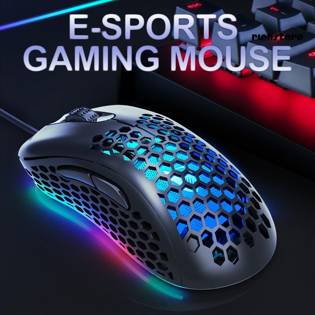 Chuột Gaming Dnbg_g540 Có Đèn Led Phát Sáng Cho Pc / Máy Tính