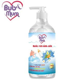 Nước Rửa Bình Sữa 500ml BuB MuM làm sạch. diệt khuẩn