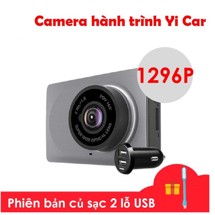 [TIẾNG ANH] Camera hành trình Xiaomi Yi car DVR 1296p Yi Dash