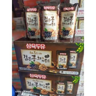[Mã 159FMCGSALE giảm 8% đơn 500K] (Date 5.2022) Sữa Óc Chó hạnh nhân đậu đen Hàn Quốc Sahmyook 195ml.