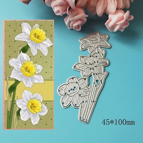 khuôn cắt giấy kim loại hình hoa lá xinh xắn