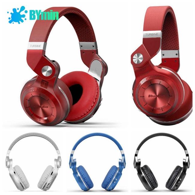 Bluedio T2 Bluetooth 4.1 Stereo Headset Wireless Headband Headphones-TQ