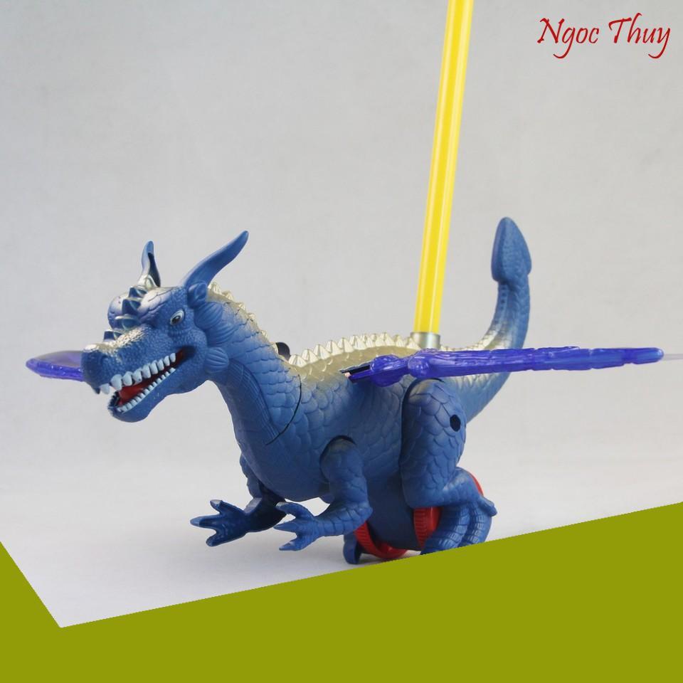 [SIÊU KHUYẾN MẠI] Đồ chơi xe đẩy khủng long bạo chúa xanh chất lượng - Bibo 225