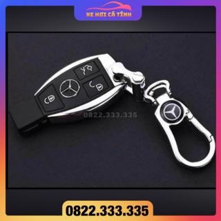 Móc Chìa Khóa ô tô Mercedes benz Móc chìa khóa Xe Hơi Có In Logo Hãng Xe - Thiết Kế Trang Trọng, Chất liệu cao cấp thumbnail