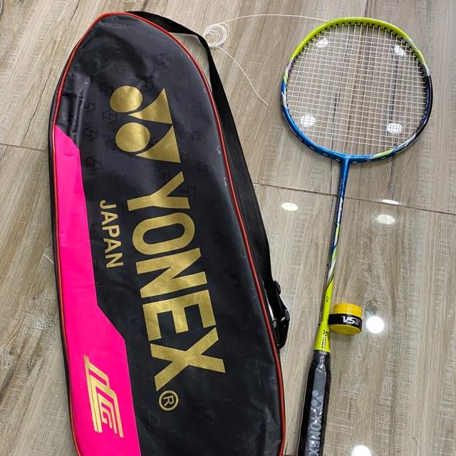1 Chiếc Vợt cầu lông yonex khung Crom Đan 9kg tặng kèm bao vợt và quấn cáng