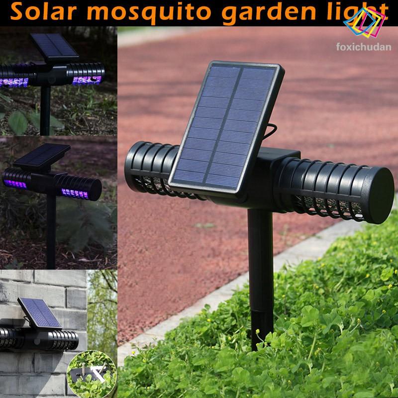 Đèn Led Diệt Muỗi Hiệu Quả Sử Dụng Năng Lượng Mặt Trời