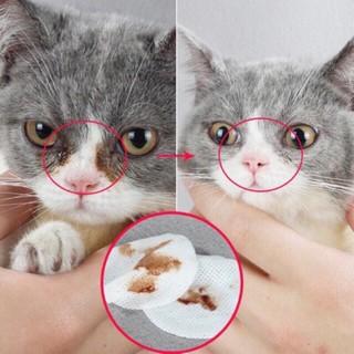 Bông Khăn Lau Vết Ố Mắt, Vệ Sinh Tai Mắt Cho Chó Mèo (Hộp 130 miếng) thumbnail