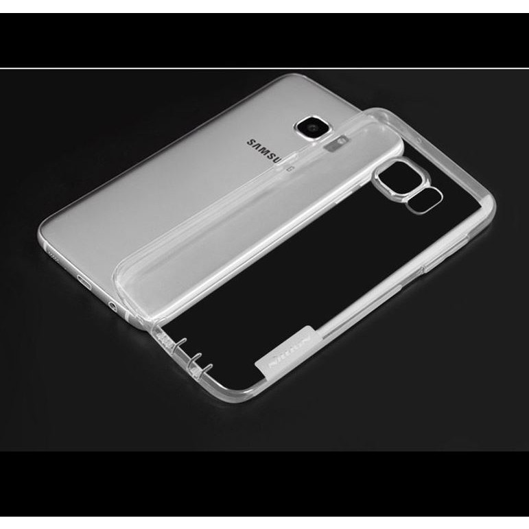 Ốp lưng Samsung Galaxy S7 Edge Silicone Nillkin trong suốt