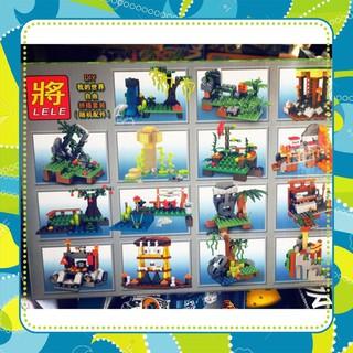 [Siêu-Rẻ] Lego Minecraft my world 33219- 400 chi tiết