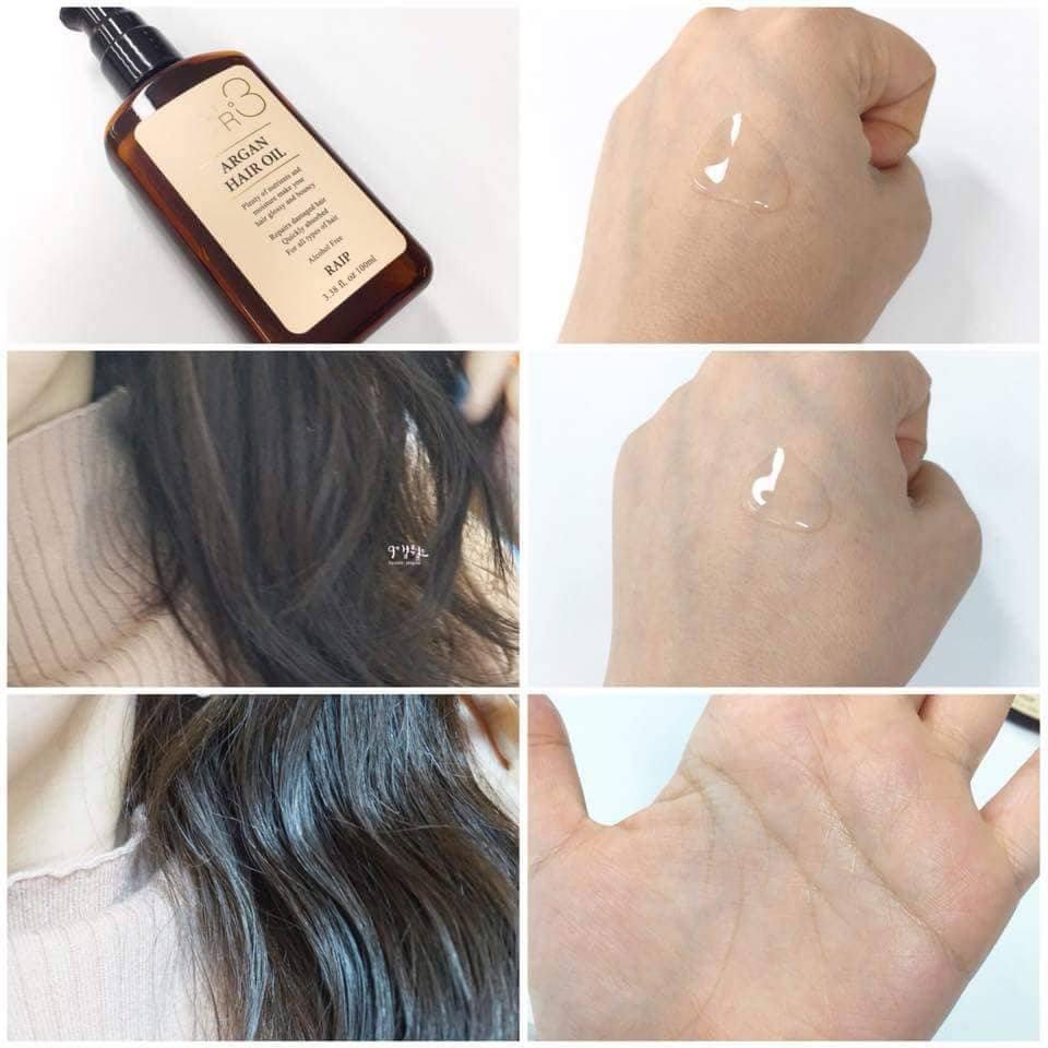 Tinh Dầu Dưỡng Tóc Raip R3 The Argan Hair Oil 100ml 4