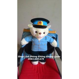 Gấu Bông Bộ Đội Phòng Không Không Quân 70 cm