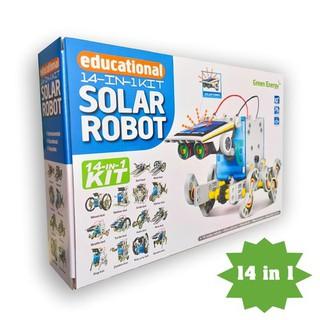 Bộ đồ chơi lắp ráp năng lượng mặt trời 14 in 1 – Solar Robot KIT