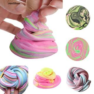 Fluffy Floam Slime Scented Stress Relief Kids Adult Plasticine DIY Sludge Toy