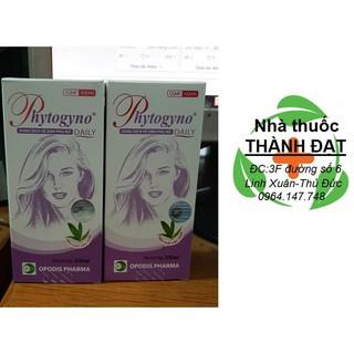 phytogyno daily màu tím dung dịch vệ sinh phụ nữ chai 100ml thumbnail