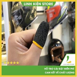 Găng tay chơi game -Bộ bao 2 ngón tay chuyên dụng chơi game mobile chống ra mồ hôi tay thumbnail