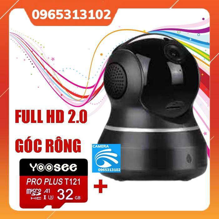 Camera IP Yoosee 2.0Mpx Thế Hệ Mới 2020- Kèm Thẻ