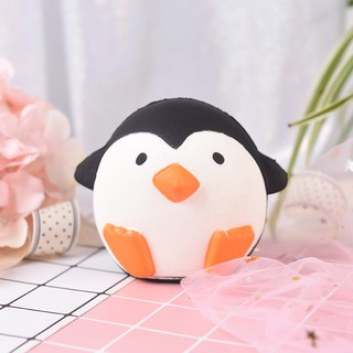 1pc stress relief toys galaxy cartoon penguin scented slow rising toy antistress