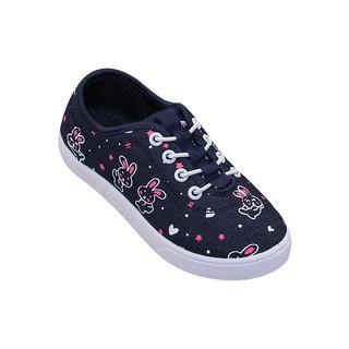 Giày vải Bita's bé gái GVBG.71 (Đỏ + Xanh Jean)