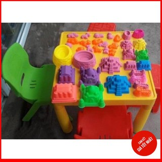[HOT] Bộ đồ chơi tạo hình cát động lực cho bé
