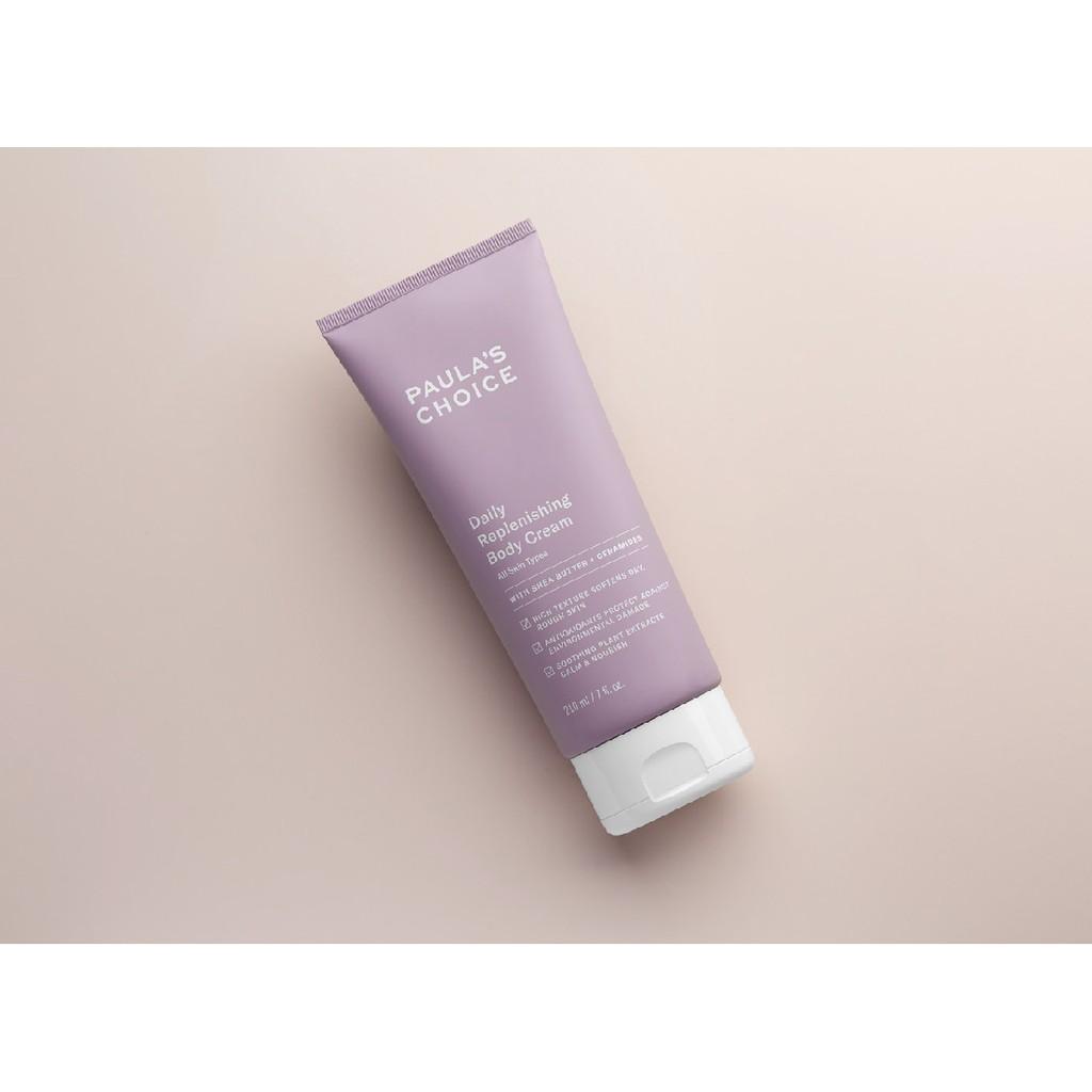 [PAULA'S CHOICE] Kem dưỡng thể toàn thân cấp ẩm đa năng siêu mềm mịn Daily Replenishing Body Cream (Mã 3450)