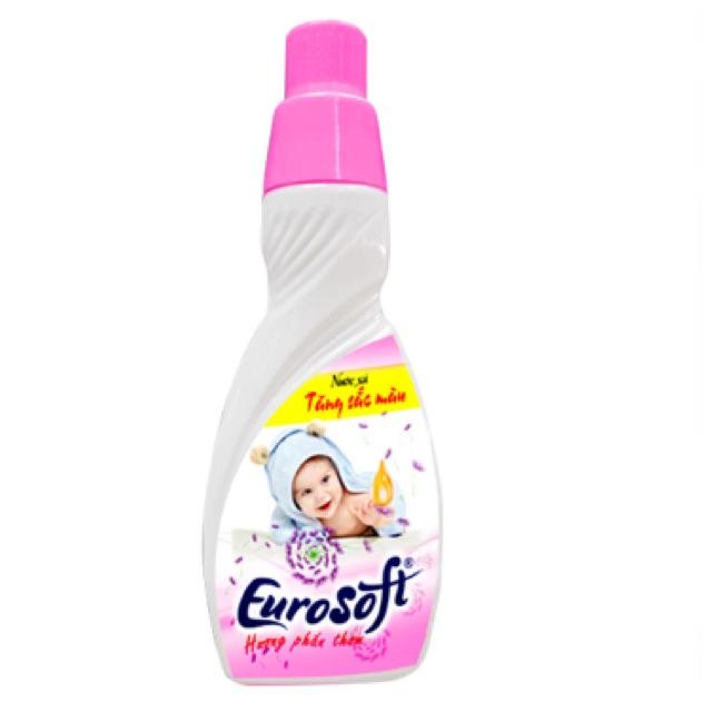 Nước xả vải baby hương phấn thơm Eurosoft 420ml