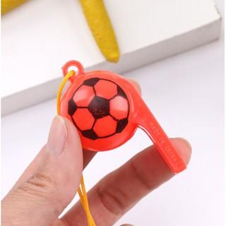 Còi thể thao có dây buộc - Còi trọng tài thể thao bằng nhựa nhiều màu sắc 5