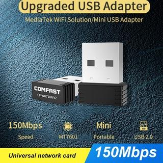 150MBPS Usb Wifi Comfast Cf-Wu710N V2 150mbps Wifi 802.11 N Cho Máy Tính