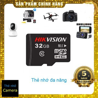 (Anh Ngọc PP) Thẻ nhớ 32GB Hikvision Class 10 Micro SD 92Mb/s