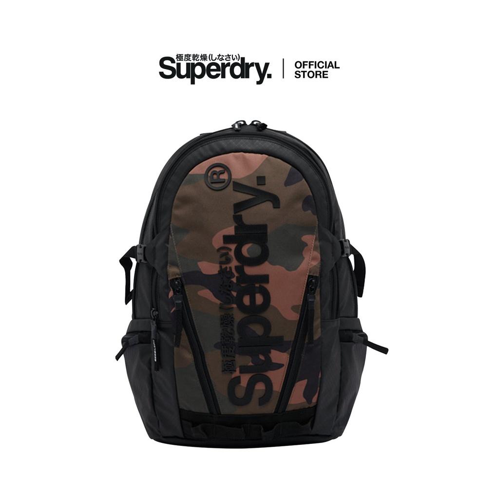 Ba lô nam SUPERDRY Tarp Backpack SDM911026A FDT họa tiết rằng ri